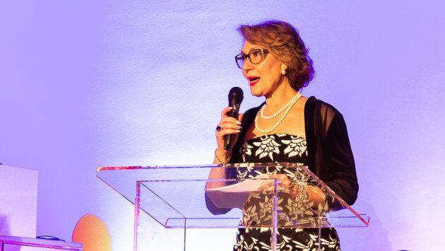 Danièle Henkel était la présidente d'honneur de la soirée.
