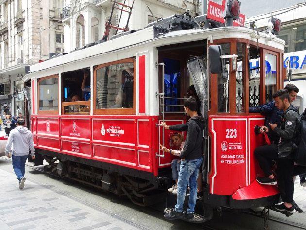 Le tramway historique de l'avenue