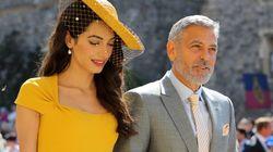 Amal et George Clooney volent la vedette au mariage
