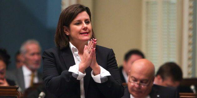 Photo d'archives de la ministre de la Justice, Stéphanie