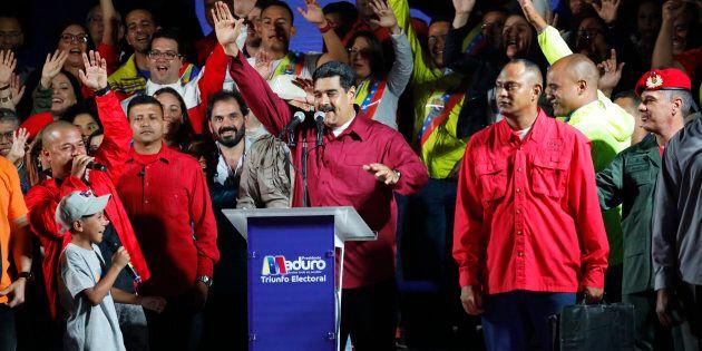 Nicolas Maduro a été déclaré gagnant de l'élection présidentielle par l'autorité électorale du Venezuela,...