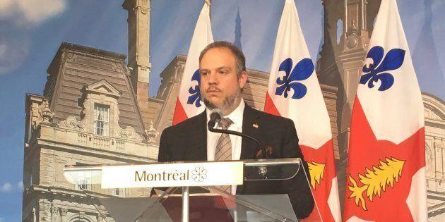 Benoit Dorais, président du comité exécutif de la Ville de