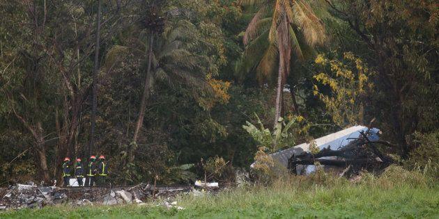 Une des trois survivantes du crash aérien à Cuba