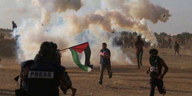 Affrontements entre Palestiniens et soldats israéliens à Gaza: les faits qui