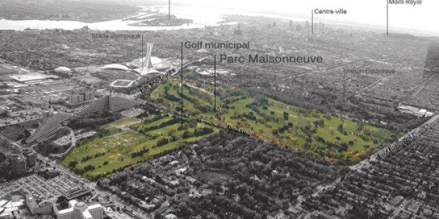 Montréal: le parc Maisonneuve en chantier tout