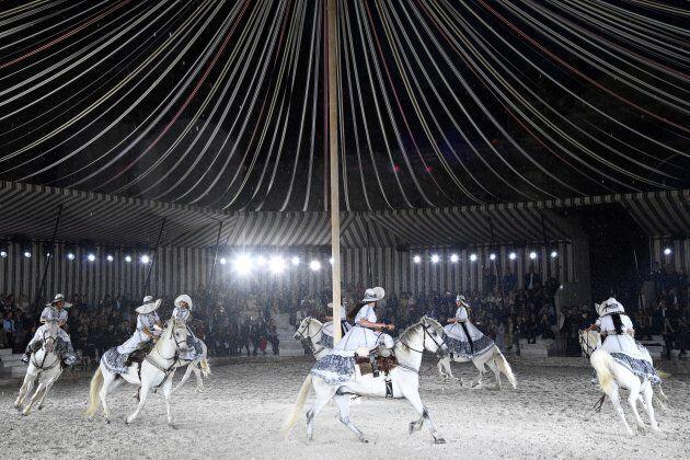 Paris Jackson fuit le défilé Dior à cause d'animaux