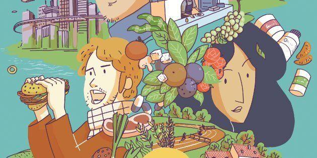 Comment mangerons-nous en 2050 ? Cette BD créée par des experts français se