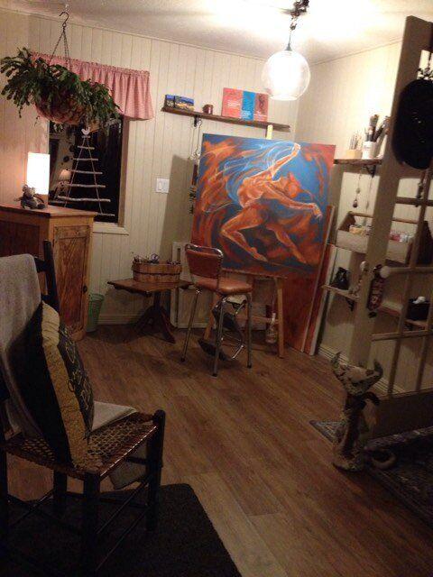 L'atelier de l'artiste, ce lieu