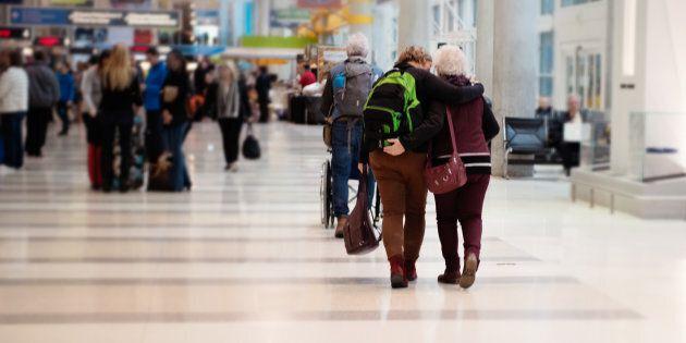 Les aéroports ne sont pas conçus pour les