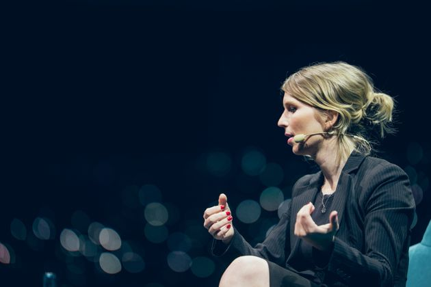 Chelsea Manning lors de son intervention à C2
