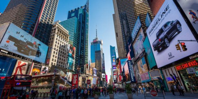 Popular Times Square in New