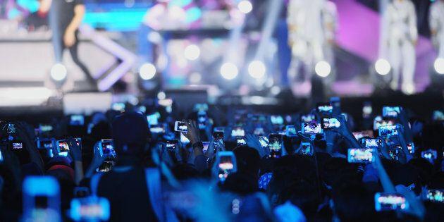 Arrêtez de prendre des photos pendant les concerts, dit la