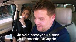 Il envoie un sms à Leo DiCaprio... avec le téléphone de J.