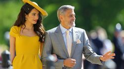 Voici pourquoi la tenue d'Amal Clooney au mariage royal coûte plus d'un demi-million de
