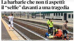 En Italie, une femme est heurtée par un train, cet homme prend un
