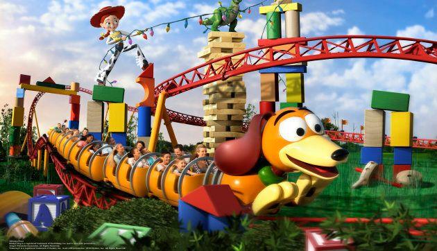 Cinq bonnes raisons de visiter Toy Story Land, vers l'infini et