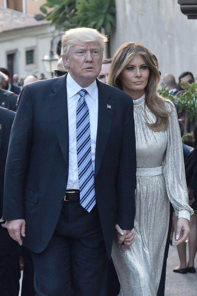Melania Trump avait accompagné le président américain au sommet du G7 l'an dernier, à Taormina en