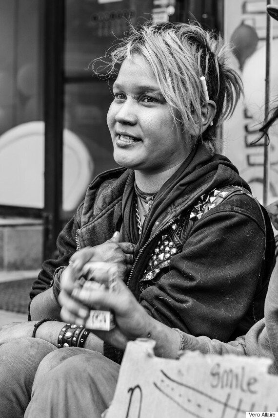 La photographe Vero Allaire restaure l'humanité des parias de ce