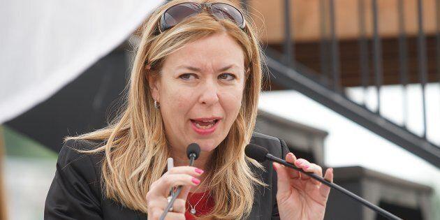 La ministre du Travail, Dominique Vien, soutient qu'il n'y a pas eu de plaintes à ce sujet qui ont été...