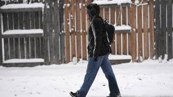 20 à 30 cm de neige attendus en