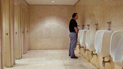 Les toilettes au travail sauvent des