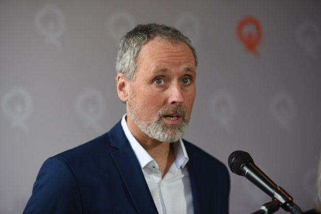 Vincent Marissal, candidat de QS dans