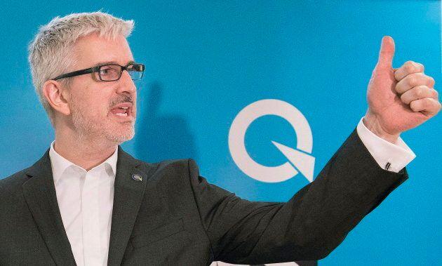 Jean-Martin Aussant, candidat du PQ dans Pointe-aux-Trembles.
