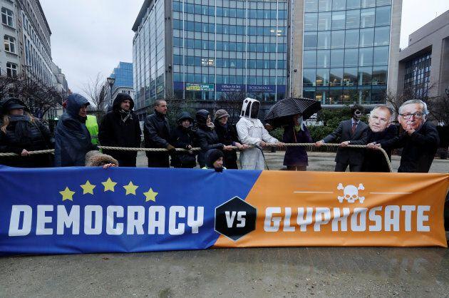 Des manifestations réclament l'interdiction du glyphosate en