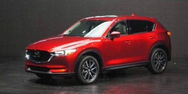 Mazda dévoile le nouveau CX-5 2017 et annonce un moteur diesel