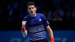 Finales de l'ATP: Raonic se qualifie pour les