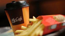 WestJet servira du café de McDonald's à bord de ses
