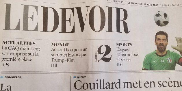 «Le Devoir» nomme Marie-Andrée Chouinard au poste de rédactrice en