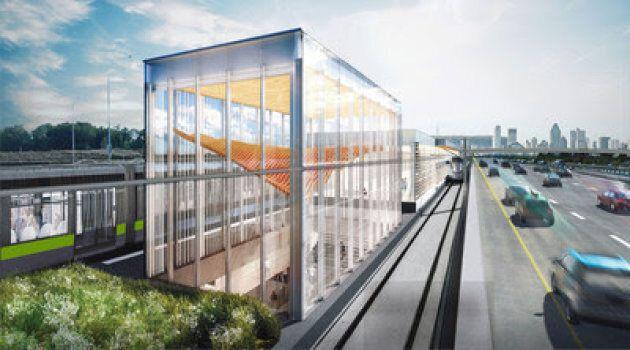 Le Réseau express métropolitain ne ferait pas partie du plan de transport en commun du PQ s'il était...