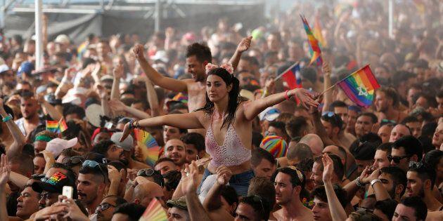 Marche des fiertés à Tel Aviv, 8 juin