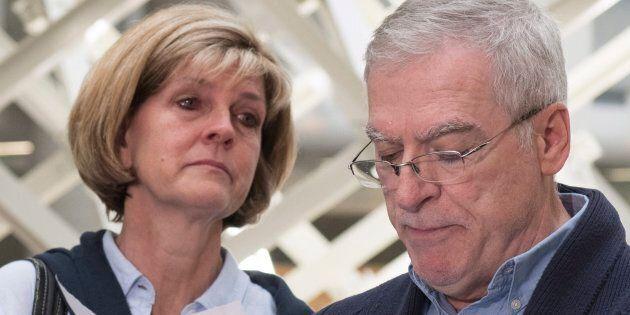 Manon Marchand et Raymond Bissonnette, les parents d'Alexandre