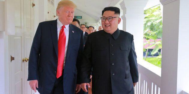 Donald Trump a montré une vidéo à Kim Jong-un au sommet de Singapour... et c'est