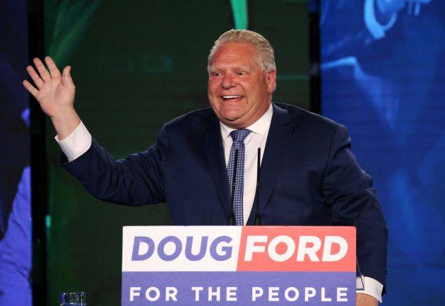 Élu le 7 juin dernier, Doug Ford avait promis en campagne électorale de retirer l'Ontario du Western...
