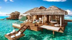 Ces luxueux bungalows sur l'eau vont vous faire rêver