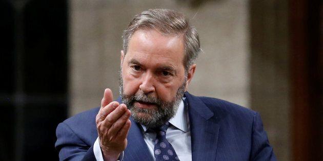 Les députés rendent hommage à l'ancien chef néo-démocrate Thomas