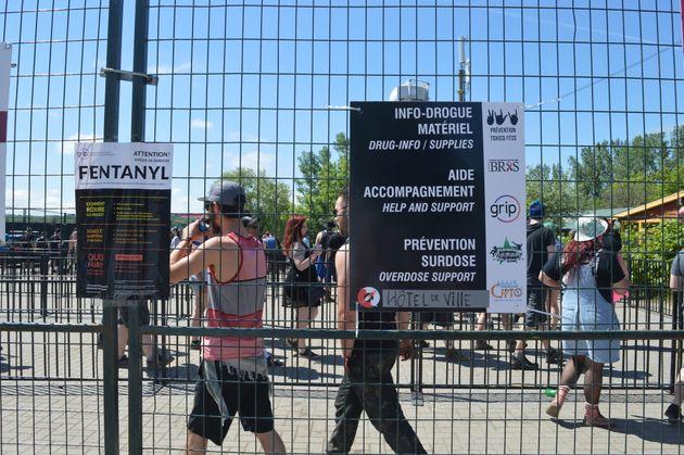 Des organismes sont présents au Rockfest pour faire de la prévention sur la consommation de