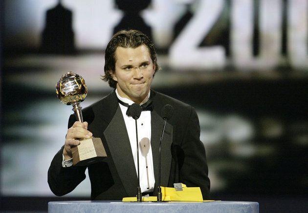 Martin St-Louis a remporté le trophée Hart, qui est remis au joueur le plus utile à son équipe, en 2004...