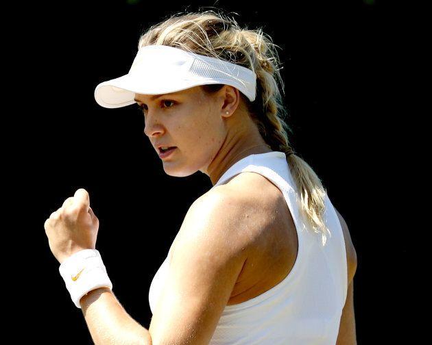 Eugenie Bouchard avait atteint la finale du tournoi de Wimbledon en