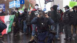 Confrontation La Meute contre antifas pour le 1er