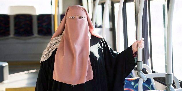 Marie-Michelle Lacoste, qui porte le niqab, était l'une des plaignantes dans cette poursuite.