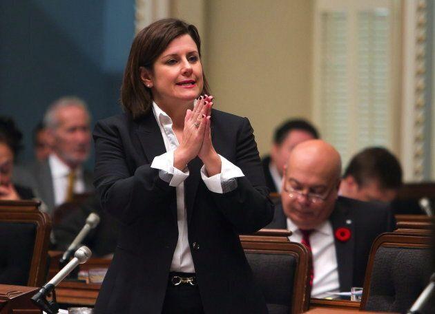 La ministre de la Justice a dévoilé ses lignes directrices pour les demandes d'accommodements le mois