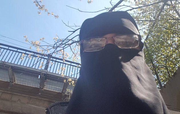 Fatima Ahmad est, à sa connaissance, la seule étudiante niqabée à l'Université