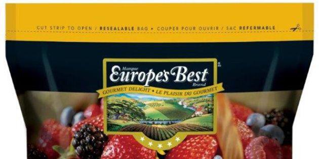 Rappel de mélanges de petits fruits de marque Europe's Best en raison de la bactérie