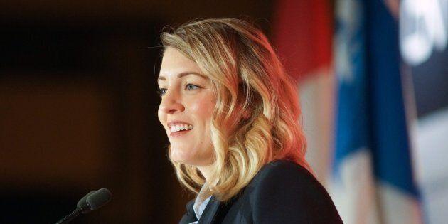 La candidature de Mélanie Joly est confirmée pour les élections de