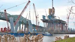 Le nouveau pont Champlain ne sera peut être pas livré le 21 décembre comme