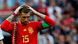 Après l'élimination de l'Espagne, la toile se moque de Sergio